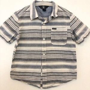 VOLCOM - Toddler Dress Shirt Size 5 M